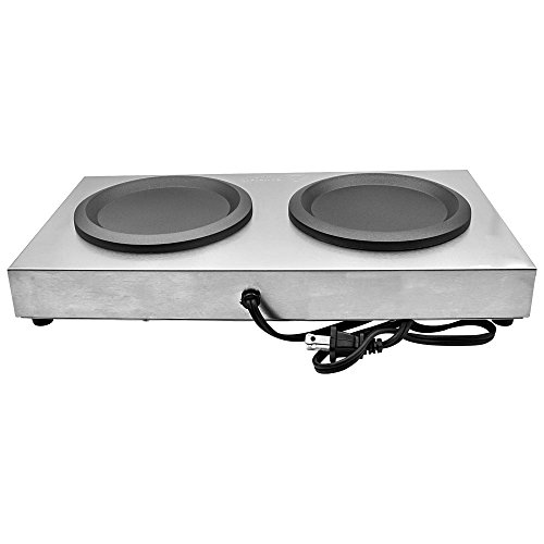 Chef's Supreme - Stainless Double Coffee Warmer by Chef's Supreme (Image #2)