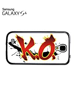 K.O. KnockOut Boxing Mobile Cell Phone Case Samsung Galaxy S4 White