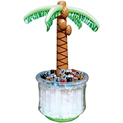 "JOYIN 60"" Inflatable Palm Tree Cooler, Beach Theme Party Decor, Party Supplies for Pool Party and Beach Party"
