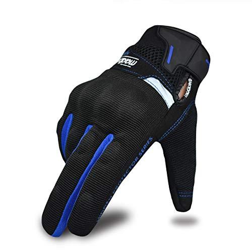 Sommer-Motorradhandschuhe für Männer und Frauen, Touchscreen Motorrad Reithandschuhe Motorrad Powersports Racing…