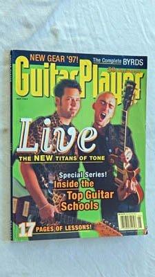 Guitar Player Magazine - May 1997 - VERY RARE Grade 9.0 - Live Chad Taylor & Ed Kowalczyk - The Byrds w/ Lessons - Roger McQuinn David Crosby - Duke Robillard