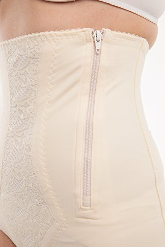 Gabrialla Abdominal Waist Support Body Shaping Slimming Girdle (reduces up to two sizes) Small by GABRIALLA (Image #3)