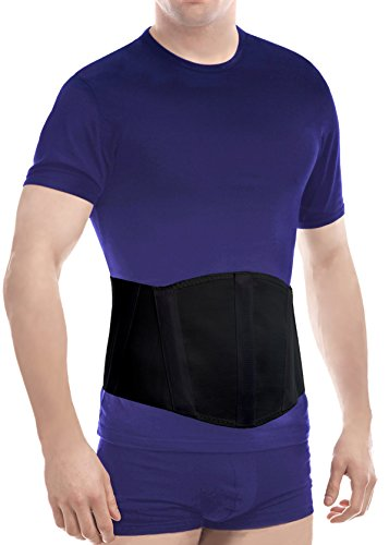 UFEELGOOD Ergonomic Umbilical Navel Hernia Belt (New Model) / Abdominal Support Brace - Medium, Waist/Belly 39½