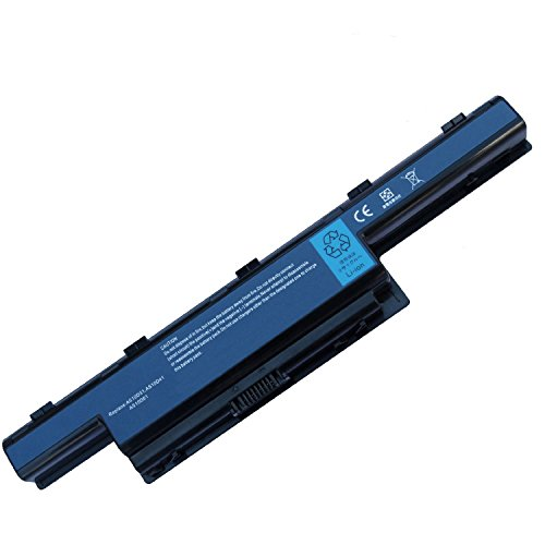 Tesurty Replacement Laptop Battery for Acer Gateway NV50A NE56R31U NE56R41U NE56R27U NE56R10U NE71B NE722 NE71B03U NE71B07U NS41 NV55S NV55C NV55C54u NV75S NV77H AS10D31 AS10D51 AS10D81 ()