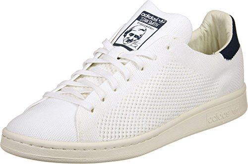 Adidas Heren Originelen Stan Smith Og Primeknit Trainers Us13 Wit