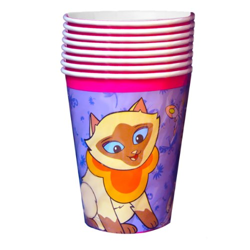 Sagwa the Chinese Siamese Cat Paper Cups (12ct)