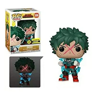 Funko POP! Deku Full Cowl GITD Glow My Hero Academia MHA EE Exclusive PreOrder: Toys & Games