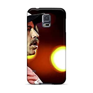 DrawsBriscoe Samsung Galaxy S5 Protector Hard Phone Covers Support Personal Customs Colorful Red Hot Chili Peppers Skin [VNl9256ndwY]