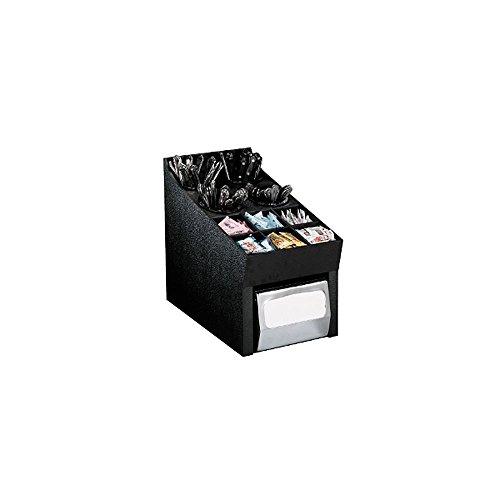 Dispense-Rite 14.75''x10'' Black Countertop Organizer by Diversified Metal Prod