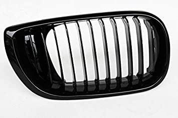 ABS Replacement Front Kidney Grill Front Bumper Hood Grill for BMW 3 Series E46 2-Door 2002-2004 Fandixin E46 Grille