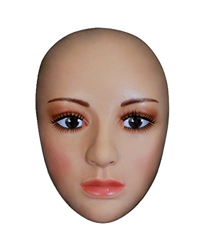 MOPPET SH-9 Silicone mask silicone half face mask Cross dressing Halloween simulation Beauty Makeup Mask -