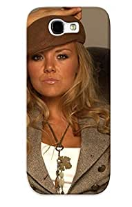 Awesome Design Charlie Brooks Hard Case Cover For Galaxy Note 2(gift For Lovers)