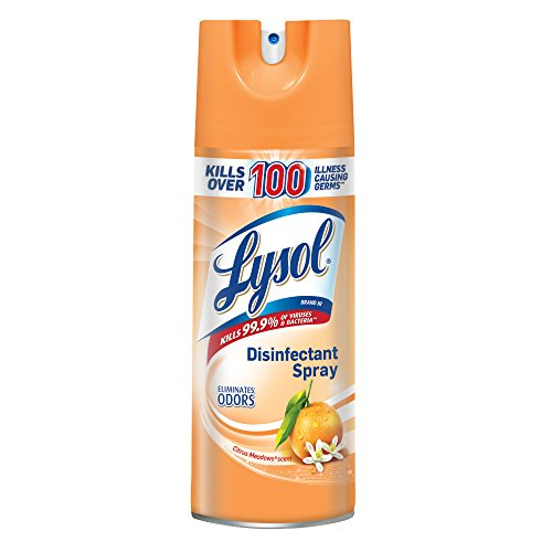 Lysol Disinfectant Spray, Citrus Meadows, 12.5 (Purpose Disinfectant)