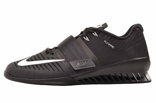 c51653a571c81 Nike Romaleos 3 852933-002 Black/White Leather Men's Weightlifting Shoes  (13)