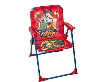 Disney - Niños Silla Plegable Mickey Mouse - jardín Camping ...