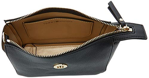 Hilfiger Negro Charming Navy Tommy Mujer Flap Core Stp Bolsos Tommy Crossover Tommy bandolera FgqRwdFS