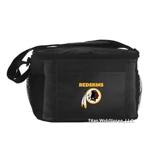 NFL Football Tailgating 6 Pack Cooler - Lunch Box Cooler (Redskins)
