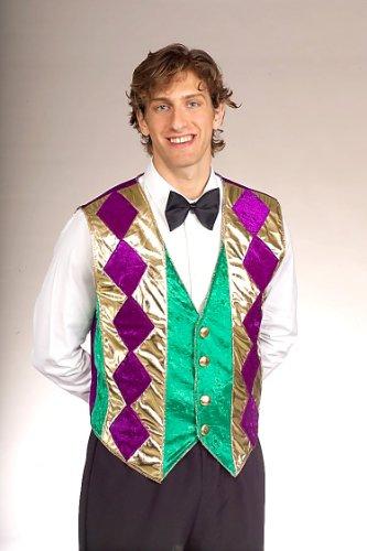 [Mardi Gras Vest] (Mardi Gras Costumes Vest)