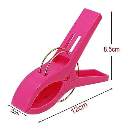 SStaste - Pinzas para Toallas de Playa, Resistentes, de Gran tamaño, de plástico