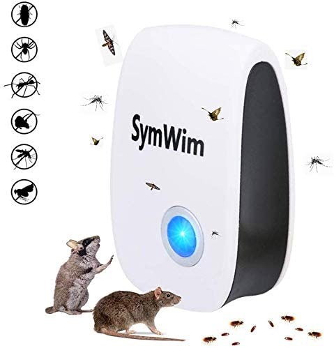 Wasps Ultrasonic Pest Repeller,2020 Upgraded Electronic Mouse Repeller 4 Pack Bed Bugs Mice Insect /& Rodent Repellent For Mosquitos Ants Fleas Roaches Flies Rat Control Rats Spiders