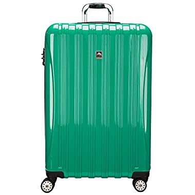 Delsey Luggage 29 Inch Expandable Trolley, Emerald Green