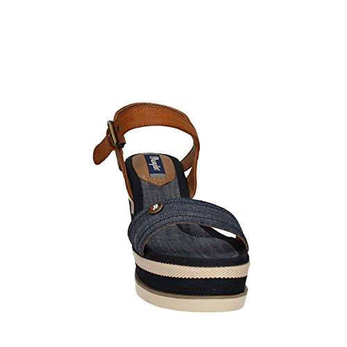 Wrangler Mujer zapatillas altas turquesa