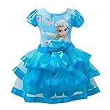 Eyekepper Little Girl's Elsa Printed Tutu Dresses