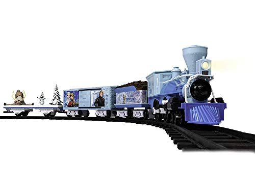 Lionel Disney's Frozen Battery-powered Model Train Set, Ready to Play wtih Remote