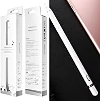 Apple iPhone//iPad Akku Passend f/ür Smartphones Tablets Universal Touchscreen-Eingabestift mit integr AICase Aktiver/ Stylus,Tablet Stift Eingabestift Touchstift,1,45-mm-Spitze Wei/ß