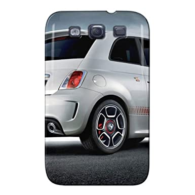 Tpu Fiat 500 Abarth Rear For Sumsang Galaxy S3 Fiat Cars Black Anti
