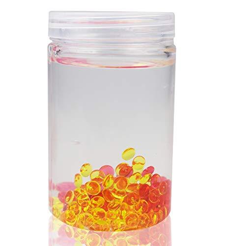 Realistic Slime Storage Container Foam Ball Storage Box Case Jar Pot With Lids For Plasticine Soft Clay Organizer 50g Home Storage & Organization