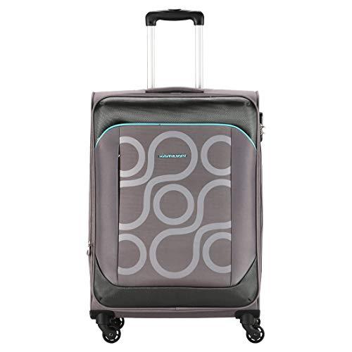 Kamiliant by American Tourister Kam Harita Polyester 69 cms Grey Softsided Check in Luggage  KAM HARITA SP Medium Warm Grey