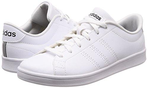 Scarpe Clean Adidas Da Bianco ftwwht Donna Advantage B44667 ftwwht cblack Tennis Qt wFqwf75t