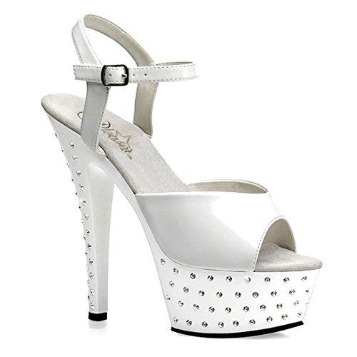 Heels-Perfect - Plataforma de material sintético mujer blanco - blanco