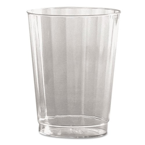WNA - Classic Crystal Plastic Tumblers, 10 oz., Clear, Fluted, Tall, 12/Pack CC10240 (DMi CT Classic Crystal Plastic Tumblers