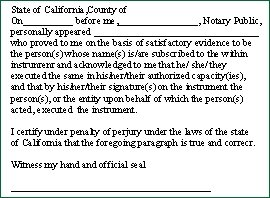 New California Acknowledgement Stamp in EP 110 EVOSTAMP Pre Ink 2-3/4in X ()