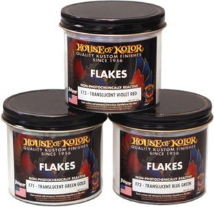 House of Kolor F73-6Z Translucent Violet/red Flake 6-ounce Jar