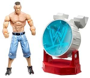 WWE FlexForce Smash Scenes Fist Poundin John Cena & Breakable Spotlight