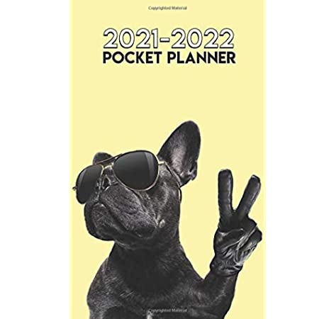 French Bulldog Small 2020 dog show diary with show dates A6 pocket size
