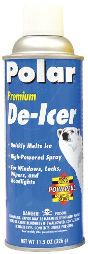 Polar 62-12PK Premium De-Icer - 12 oz., (Pack of 12) by Polar Products