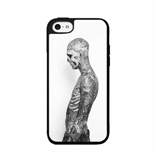 BleuReign(TM) Zombie Boy TPU RUBBER SILICONE Phone Case Back Cover iPhone 5 5s and iPhone SE]()