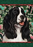 Springer Spaniel B/W – Best of Breed Holiday Treats Christmas Large Flag Review