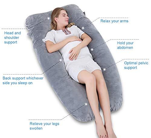 Meiz U Shaped Body Maternity Pregnancy Body Pillows