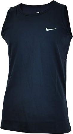 Nike Vest Hombre Deporte Regular Fit Fitness Camisa Camiseta ...