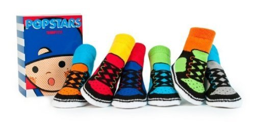 Popstars Baby Socks (0-12 Months) - Set of Six