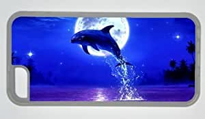 Diy iphone 5 5s case Dolphin Best Throw Over DIY Rubber TransparentIphone 5 5S Perfect By Custom Service