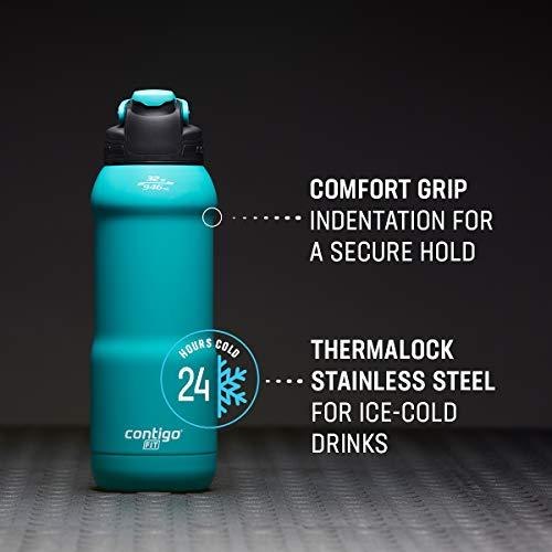 Contigo Fit Autospout Water Bottle, 32oz, Licorice