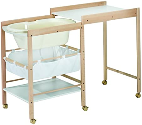 Geuther Hanna Changing Table Natural White Amazon Co Uk Baby