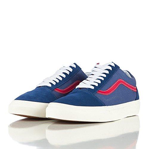 Vans OLD SKOOL mens skateboarding-shoes VN-03Z6IL1_8 Blue VN0003Z6IL1108000M