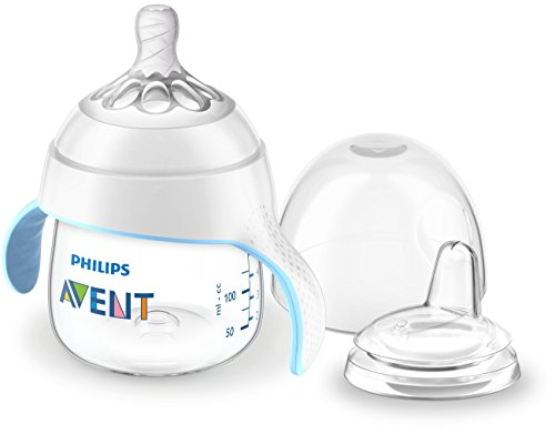 Philips Avent My Natural Trainer Sippy Cup, Clear, 5oz, 1pk, SCF262/03